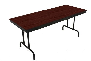 """HUSKY Seating® Heavy Duty 750 LB Commercial Folding Table - Rectangle-36"""" W x 96"""" L"""