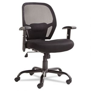 Alera 450 lb Big & Tall Mesh Mid-Back Office Chair with Lumbar Support