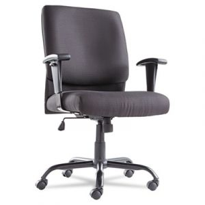 OIF Mid-Back Big & Tall Black Task Computer Chair