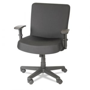 Alera 500 lb Big & Tall XL Mid Back Task Chair with Adjustable Arms