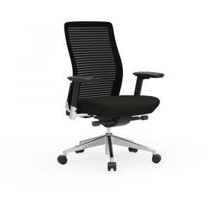 Cherryman Eon 300 LB Ergonomic Task Chair with Black Frame