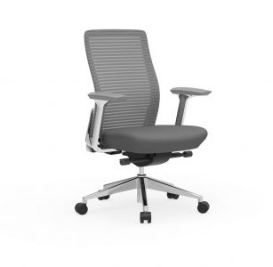 Cherryman Eon 300 LB Conference Chair with White Frame