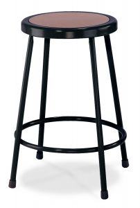 "4 PACK NPS Black Lab Stool - 24"" Height"