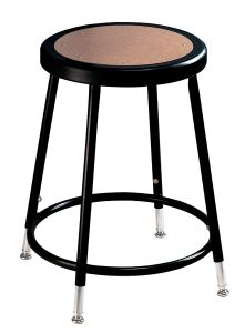 "5 PACK NPS Black Lab Stool - 19"" - 27"" Adjustable Height"