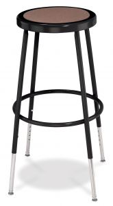 "4 PACK NPS Black Lab Stool - 25"" - 33"" Adjustable Height"