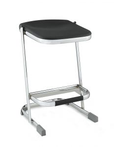 "Stacking Elephant Z-Stool with Blow Molded Seat - 24"" Seat Height"