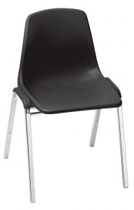 4 PACK NPS 8100 Series Commercial Stacking Chair