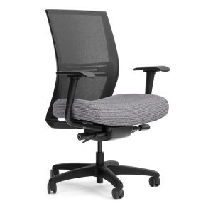 SitOnIt Amplify Large & Tall 400 LB 24/7 Task Chair with Seat Slider