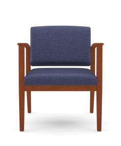 Lesro Amherst Wood® 400 LB Big & Tall Oversize Guest Chair