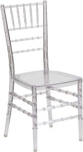 HUSKY Seating® 1000 LB Crystal Ice Stacking Chiavari Chair