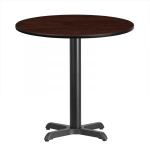 """HUSKY Seating® 400 LB Heavy Duty Commercial Restaurant Table - Table Height-36"""" D"""