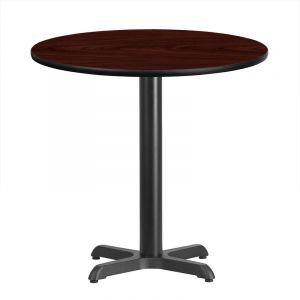 "HUSKY Seating® Heavy Duty Commercial Restaurant Table - Bar Height-42"" D"