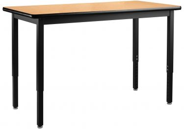 Heavy Duty 500 LB Adjustable All-Purpose Table - Laminate Top