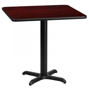 """HUSKY Seating® 400 LB Heavy Duty Commercial Restaurant Table - Bar Height-36"""" W x 36"""" L"""