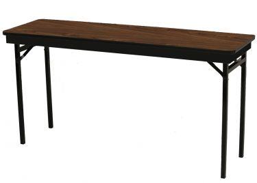 "HUSKY Seating® Heavy Duty 750 LB Four Leg Folding Table-24"" W x 96"" L"