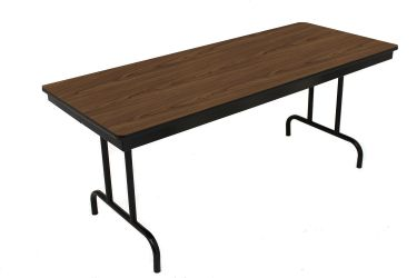 """HUSKY Seating® 1000 LB Extreme Duty Commercial Folding Table with Plywood Core - 36"""" x 96"""""""