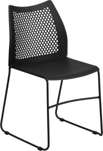 HUSKY Seating® 650 LB Commercial Vented Back Stack Chair