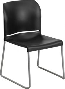 HUSKY Seating® 800 LB Designer Stack Chair with Full Back