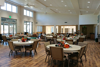 Senior Center Chairs and Tables