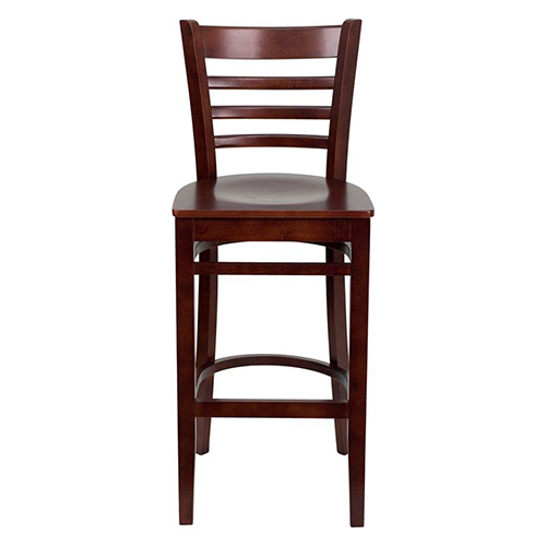 Heavy Duty Wood Bar Stools